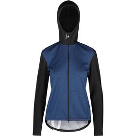 ASSOS Trail Veste à capuche Printemps/Automne Femme, bleu